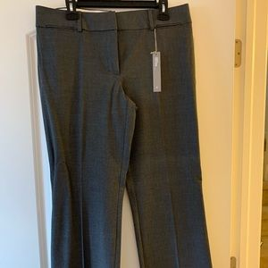 LOFT Marissa trouser- Gray